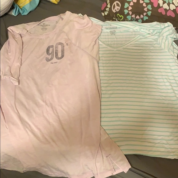American Eagle Outfitters Tops - american eagle soft&sexy shirts